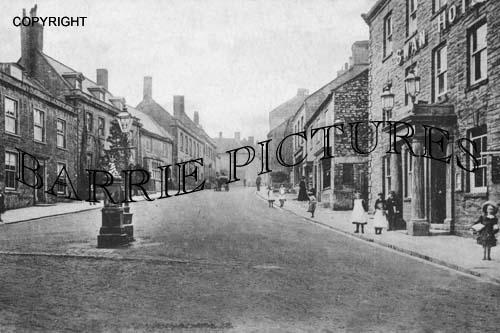 Crewkerne, Church Street 1920
