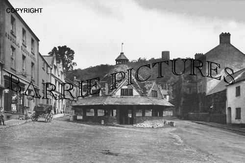 Dunster, Market House c1910