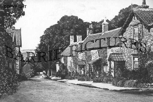 East Harptree, High Street c1910