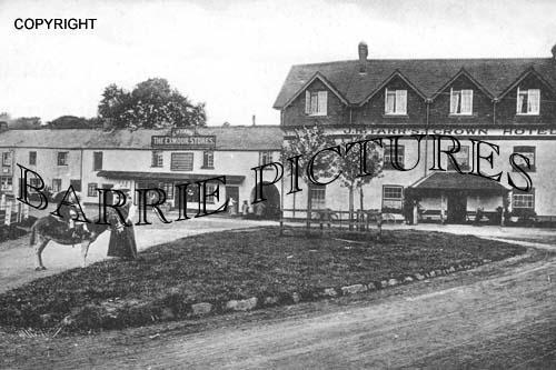 Exford, Village c1905