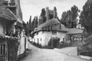 Luccombe, Village c1890