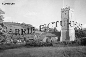 Luccombe, Village and Church c1930