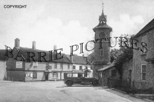 Nether Stowey, The Clock Tower c1930