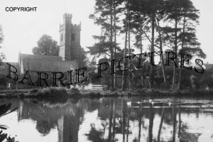 Nether Stowey, Pond and Court Houses c1920