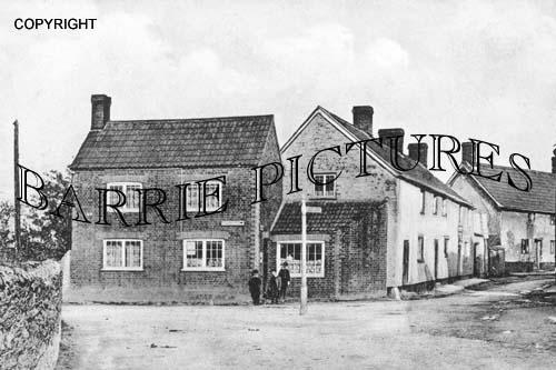 North Newton, Post Office c1905