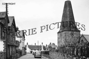 Porlock, Parson Street c1940