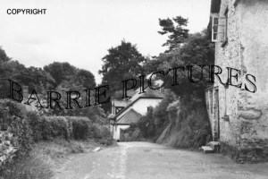 Waterrow, from Chipstaple Road 1957