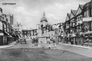 Wells, Market Place 1950