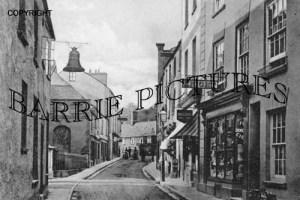 Wiveliscombe, West Street 1904