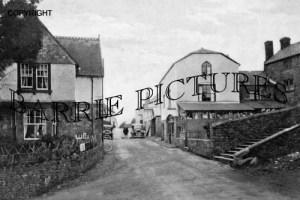 Wootton Courtenay, Post Office c1940
