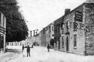 Wrington, Broad Street 1915