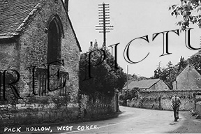 West Coker, Pack Hollow c1950