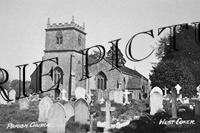 West Coker, Parish Church c1920