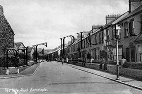 Barnstable, Yeo Vale Road c1940