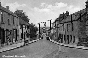 Barnstable, Pilton Street c1910