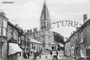 Beer, St Michaels Church c1910
