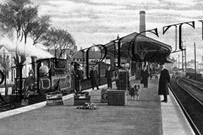 Barnstable, Town Station c1900