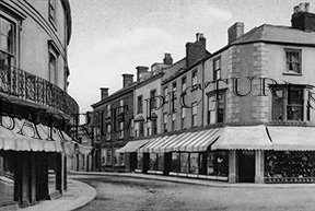 Axminster, Victoria Place c1900