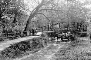 Boldre, Roydon Bridge c1900