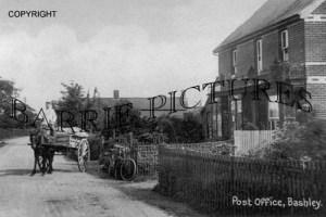 Bashley, Post Office c1910