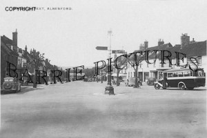Alresford, Broad Street c1955