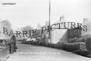 Sutton Scotney, High Street c1910