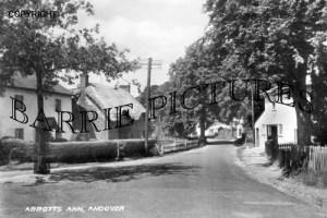 Abbotts Ann, Village c1950