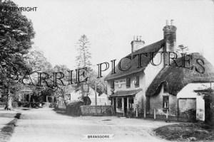 Bransgore, The Three Tuns Inn c1900