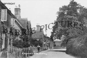 Botley, Church Lane c1910