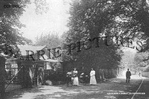 Alverstoke, Anglesey Road c1900