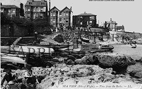 Seaview, from the Rocks c1900