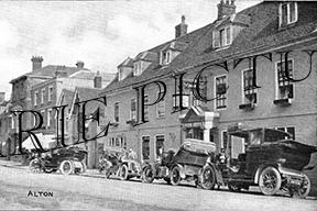 Alton, The Swan Hotel c1920