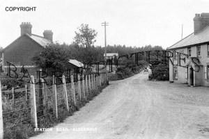 Alderholt, Station Road c1910