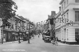 Bideford, High Street c1940