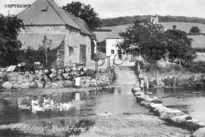 Chagford, Rushford Mill c1940