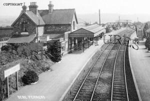 Bere Ferrers, Station c1915