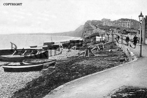 Budleigh Salterton, The Front c1920