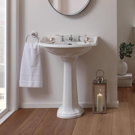 imperial oxford large basin and pedestal   traditional basins