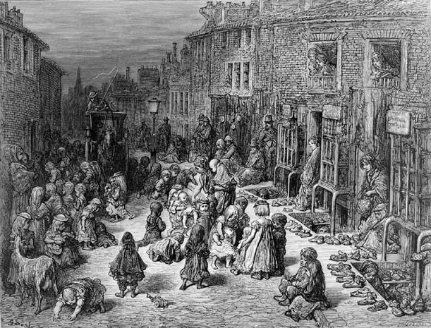 Image result for victorian slums