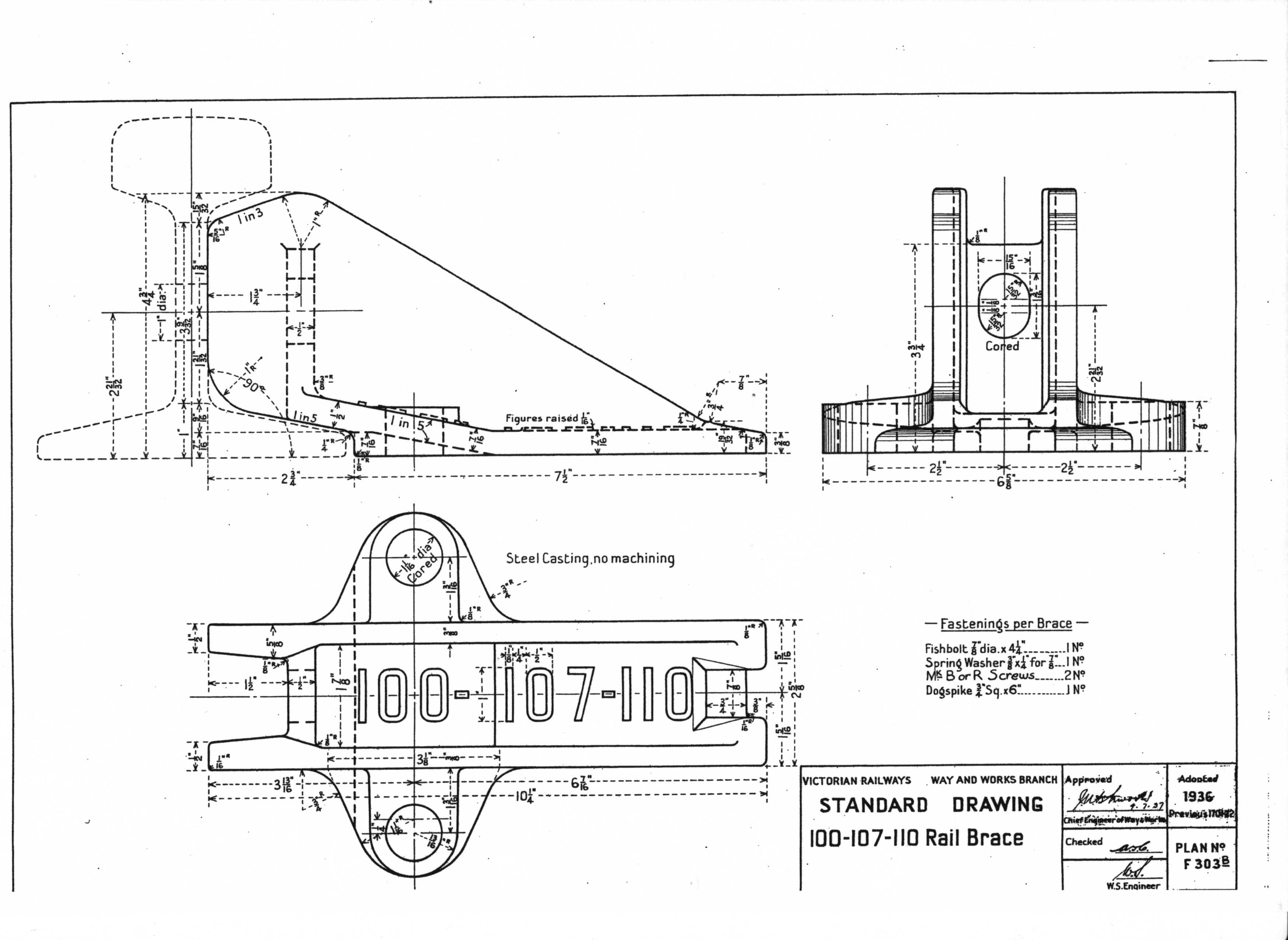 Victorian Railway Station Diagrams