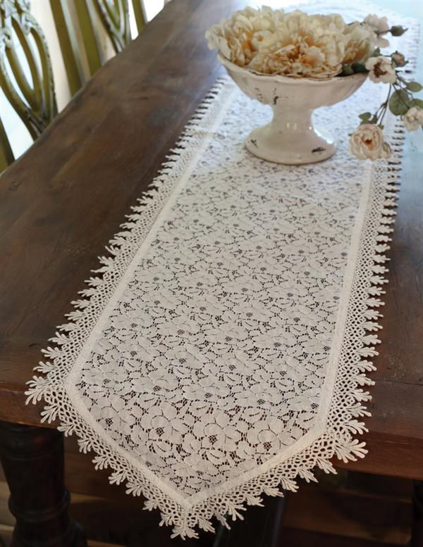 Alsace Lace Table Runner Venetian Lace Runner