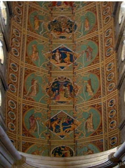 Nave Ceiling, painted 1858-65 by Henry Styleman L'Estrange and T. Gambier Parry