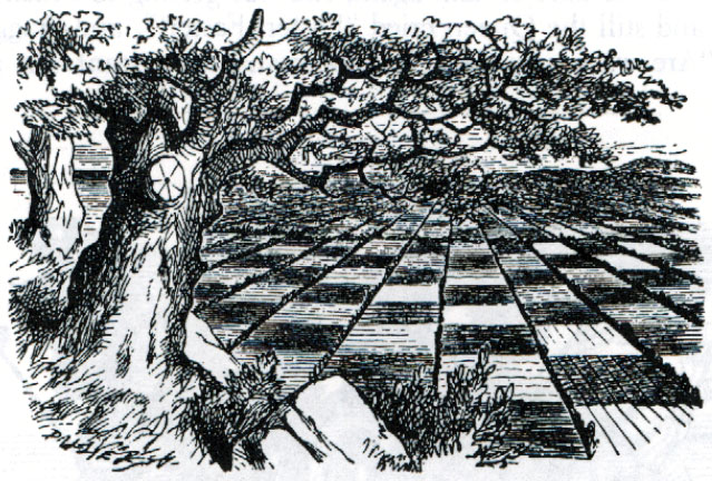 Illustration from Through the Looking Glass by John Tenniel