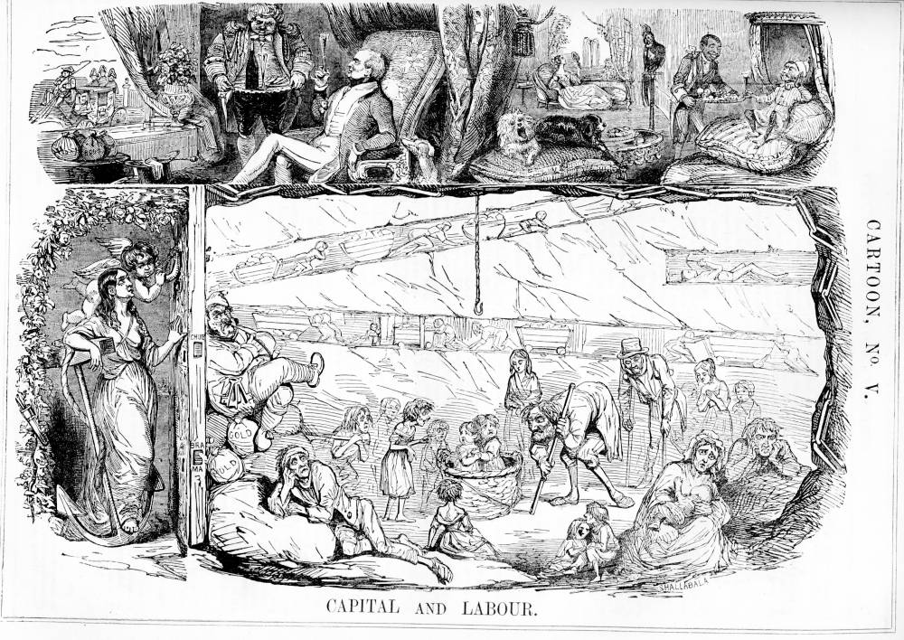 Image result for punch cartoon wealth