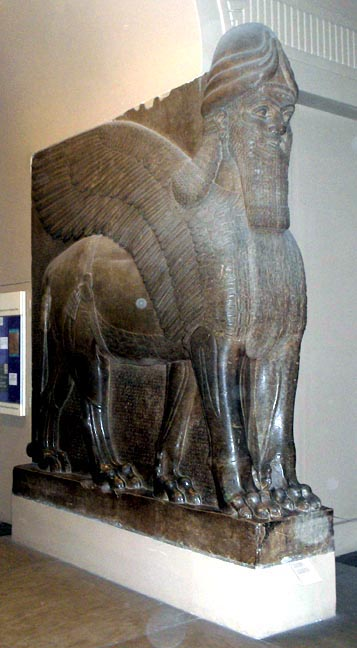 Reception Of Nineveh Sculptures At The British Museum