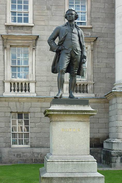 Estátua de Edmund Burke