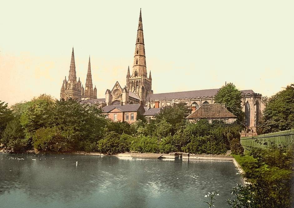Image result for lichfield cathedral