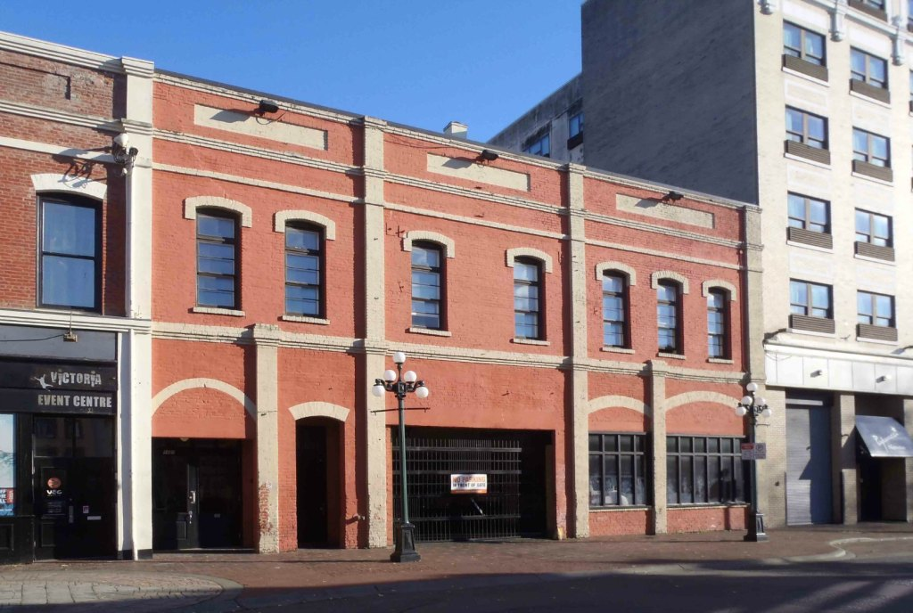 1407-1411 Broad Street. Originally built by John Meston for his carriage making and blacksmith business.