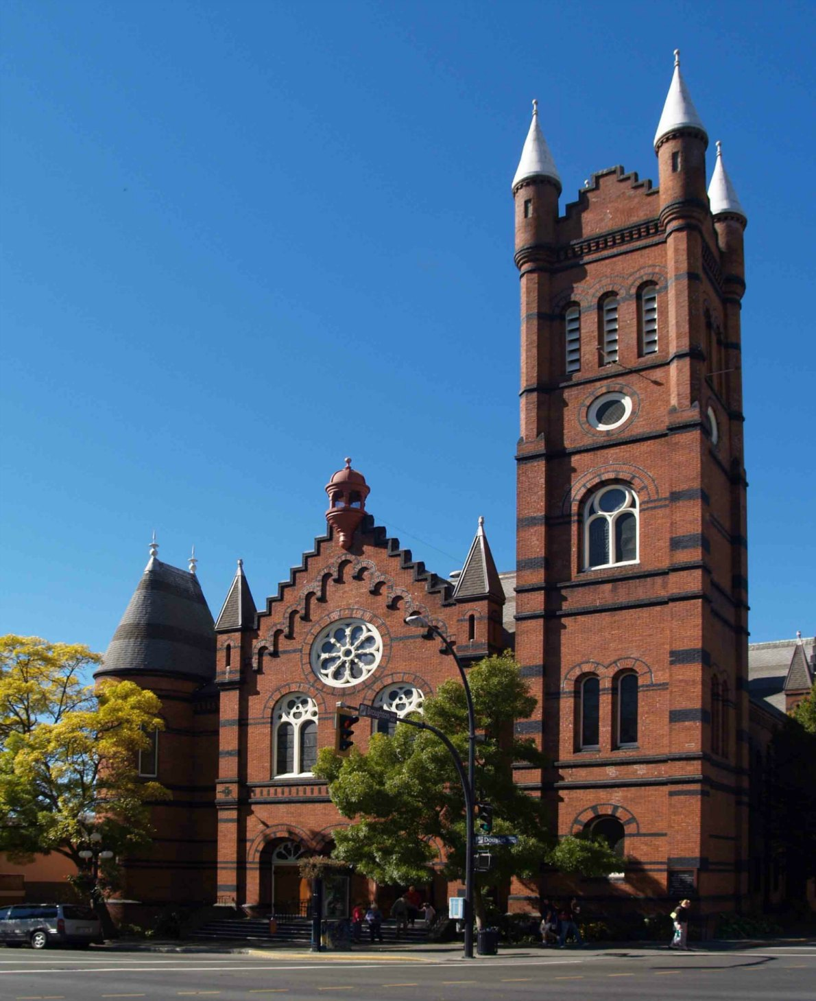 St. Andrew's Presbyterian Church, 900 Douglas Street, Built in 1890.