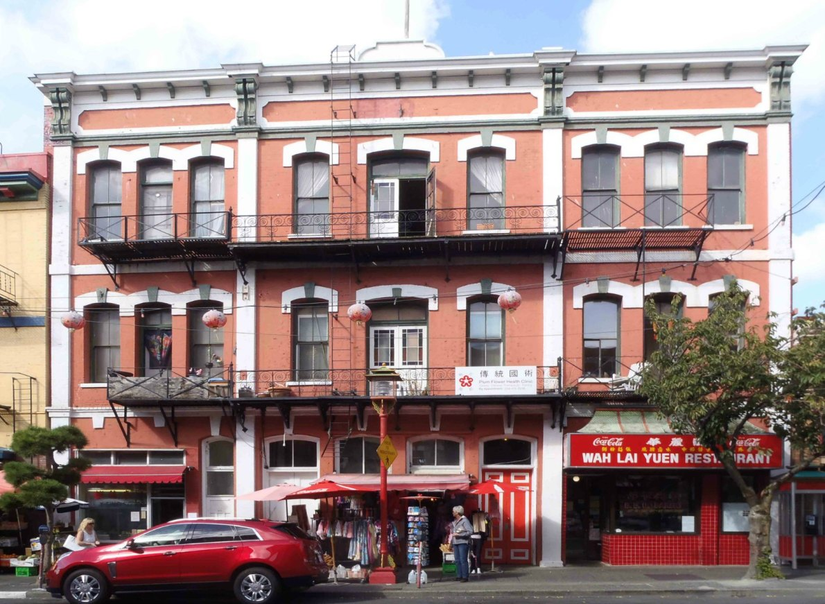 Chinese Consolidated Benevolent Association building, 554-562 Fisgard Street
